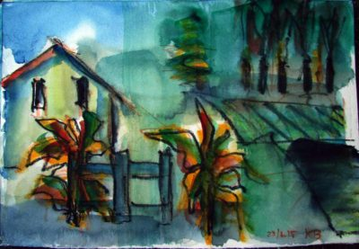 Klaus Becker - Watercolour - Provence - 19