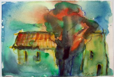 Klaus Becker - Watercolour - Provence - 5